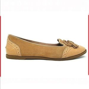 Sperry leather ballet flats